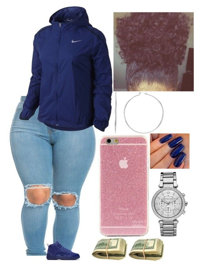 """Viernes"" by amournyaa ❤ liked on Polyvore featuring NIKE and Michael Kors"