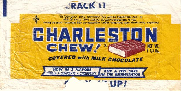 Fun Old Time Candy Products: Charleston Chews by Homemade Recipes at http://homemaderecipes.com/course/appetizers-snacks/old-time-candy