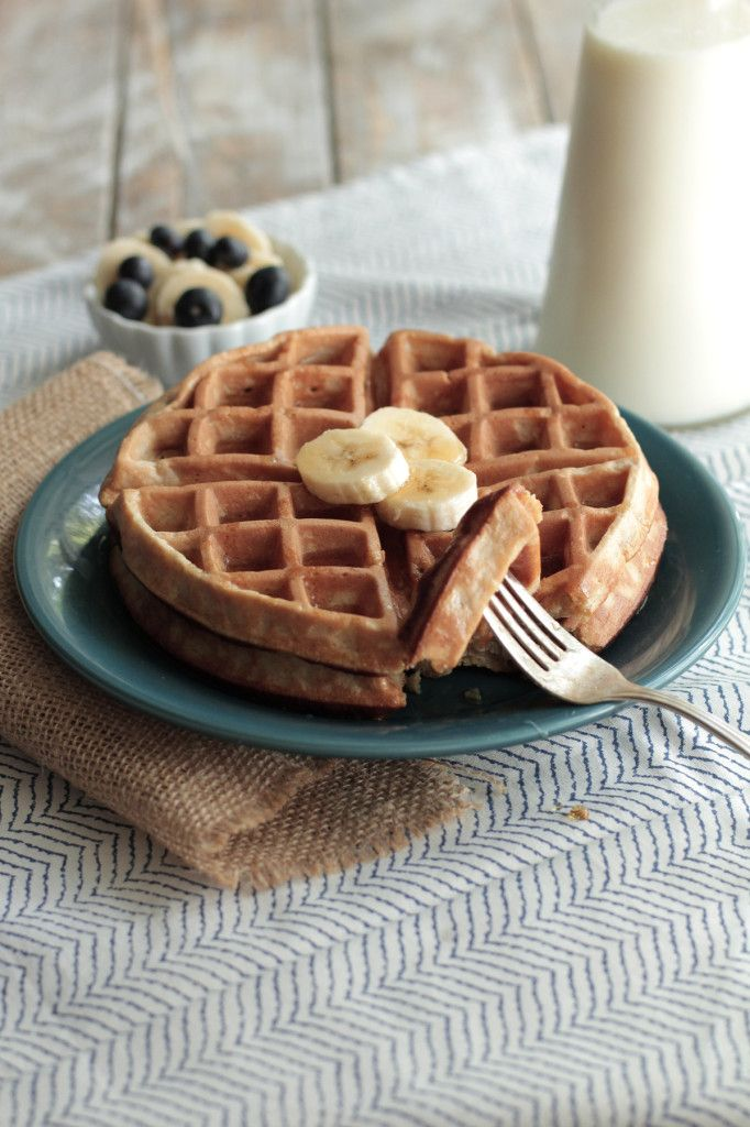 Soaked Gluten Free Oat Waffles - Live Simply