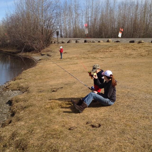 Fishing..........