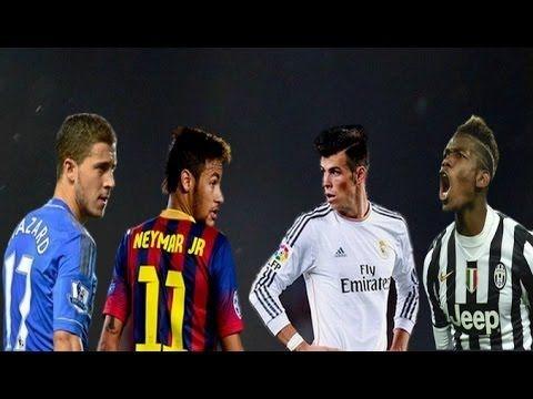 Neymar vs Bale vs Hazard vs Pogba ► The Best Show 2014 |HD