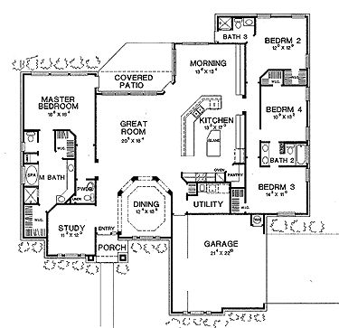 duplex open floor plans. duplex. home plan and house design ideas