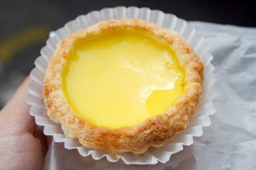 Egg Custard Tarts from Bread Talk Inc. (47 Catherine St, NY NY 10002)