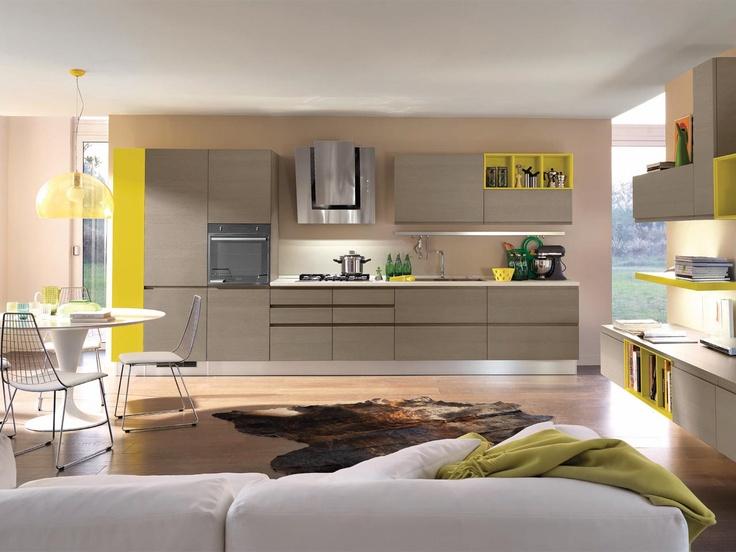 Gelbe Küche von Cucine Lube / yellow kitchen by Cucine Lube | Home ...