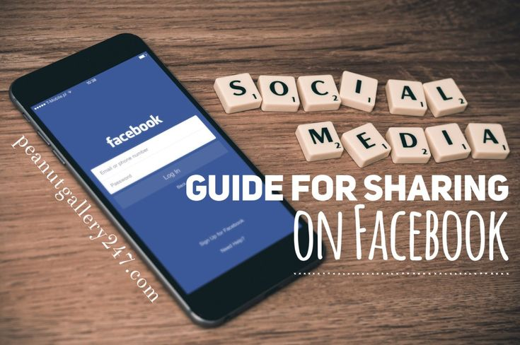 Social Media Guide for Sharing - Facebook
