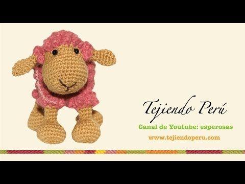 Ovejas tejidas a crochet (amigurumi) Parte 2: tejiendo la ...