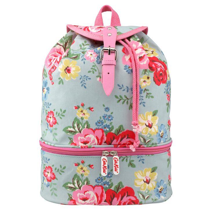 Park Rose Kids Drawstring Sports Backpack | Cath Kidston |
