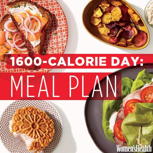 Flat-Belly Meal Plan: Breakfast, Lunch, Dinner and Two Snacks for Under 1,600 Calories | Women's Health Magazine