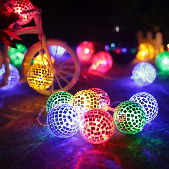 Disco Ball Led Decor Lights Led Decor Decor Lighting Holiday Lights