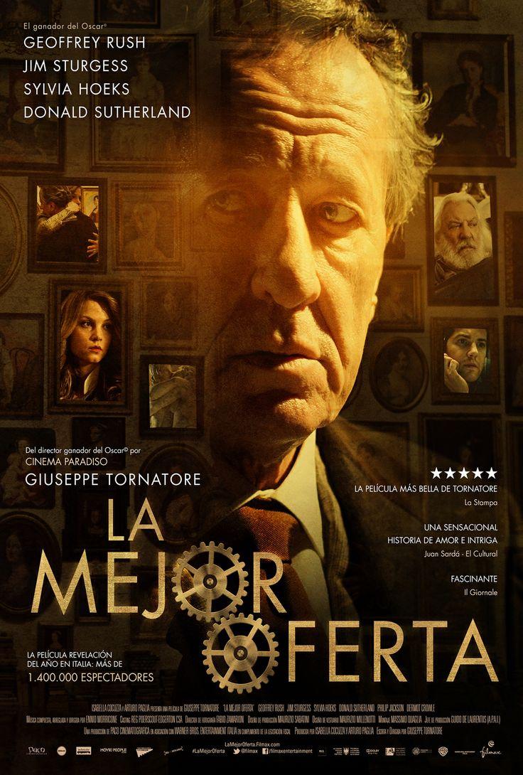 La mejor oferta (2013) Italia. Dir: Giuseppe Tornatore. Suspense. Romance. Drama - DVD CINE 2273