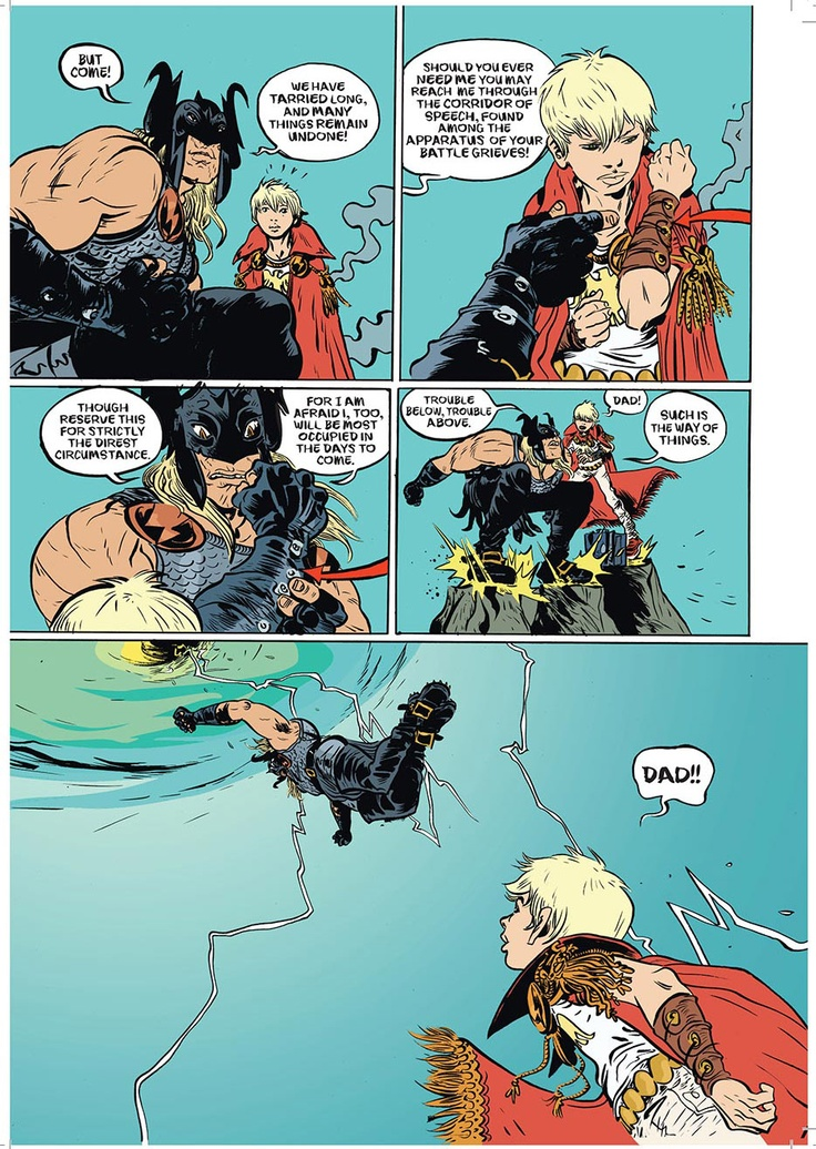 Paul Pope, Battling Boy #8