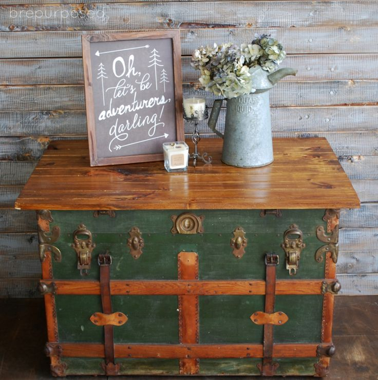 Antique Trunks As Coffee Tables: Best 20+ Old Trunk Redo Ideas On Pinterest