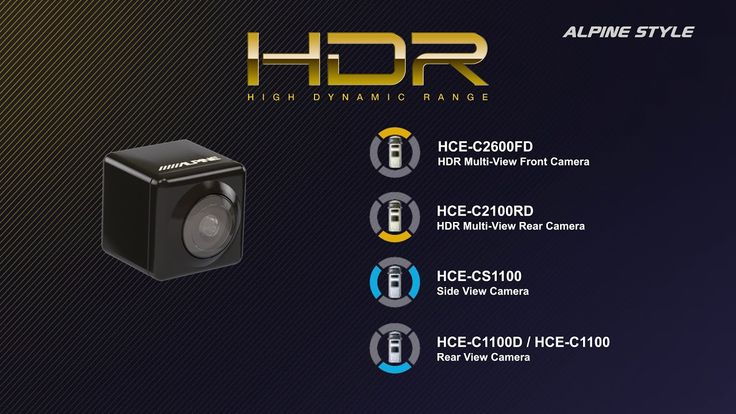Alpine's all new HDR cameras are simply amazing and offer many new technologies that make manoeuvring your vehicle easier and safer. - High-resolution camera for great picture quality and high details  - Amazing night-view capabilities in low-light environments  #alpineuk