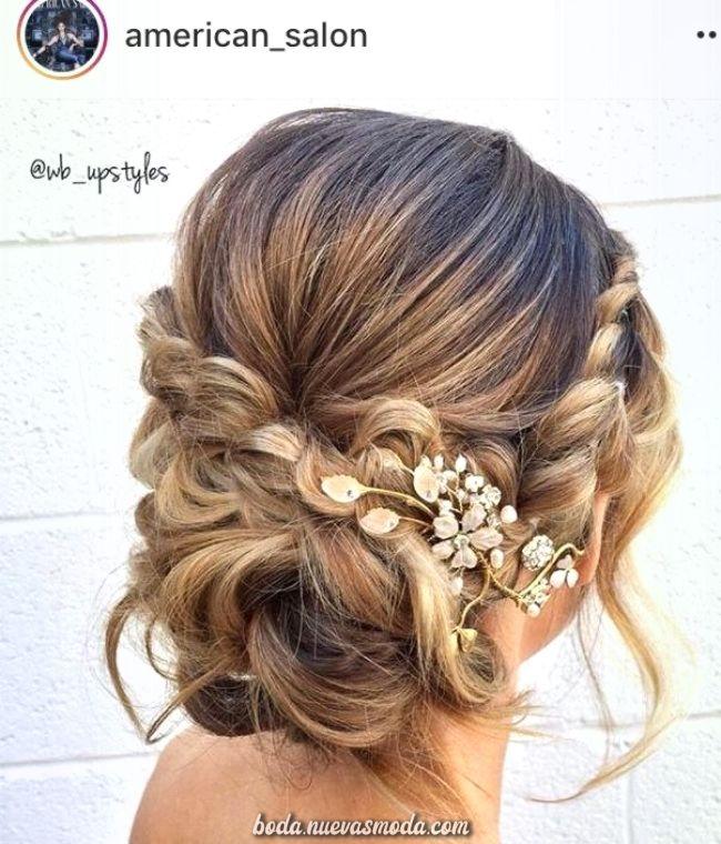 Peinados pelo corto boda pinterest