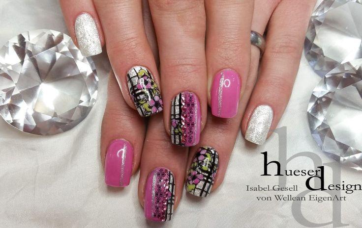 Diamond Touch fingernail UV Gel, perfect shine and sparkle!