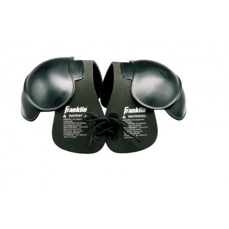 Youth Shoulder Pads, Sports Costume Pads - NOT to be used as protective equipment in football or any other contact sport. - Perfect for dress-up or costume play. - Non-performance foam and plastic shoulder pads. - Youth size - Great for under a jersey to show your support on game day. http://franklinsports.com/shop/youth-sports-costume-shoulder-pads