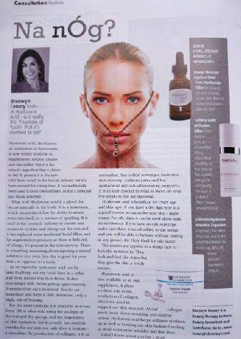 Janssen Cosmetics - Bronwyn Conroy looks at Hyaluronic Acid - Hyaluron Impulse