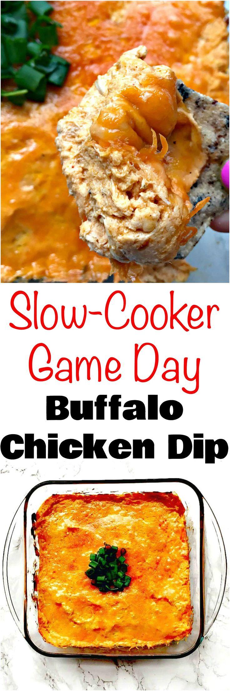 Low-Carb Buffalo Chicken Dip