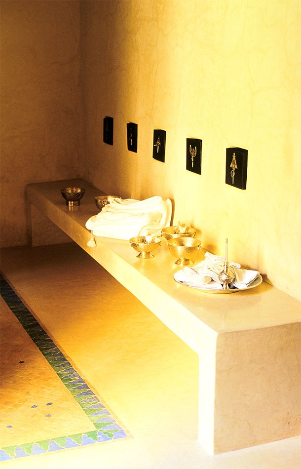 The hammam at Dar Ahlam | Global Beauty Culture | Organic Spa Magazine: Global Beauty, Beauty Culture, Spa Spirit