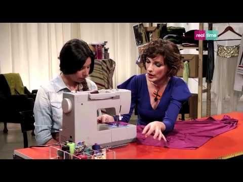 Come trasformare una camicia da uomo in una camicia da donna - I tutorial di Re-fashion - YouTube