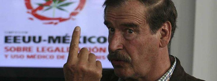 Vicente Fox de prohibicionista a la lucha por la normalización