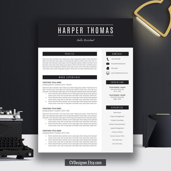 9 best Work images on Pinterest Resume templates, Resume design - buffet attendant sample resume