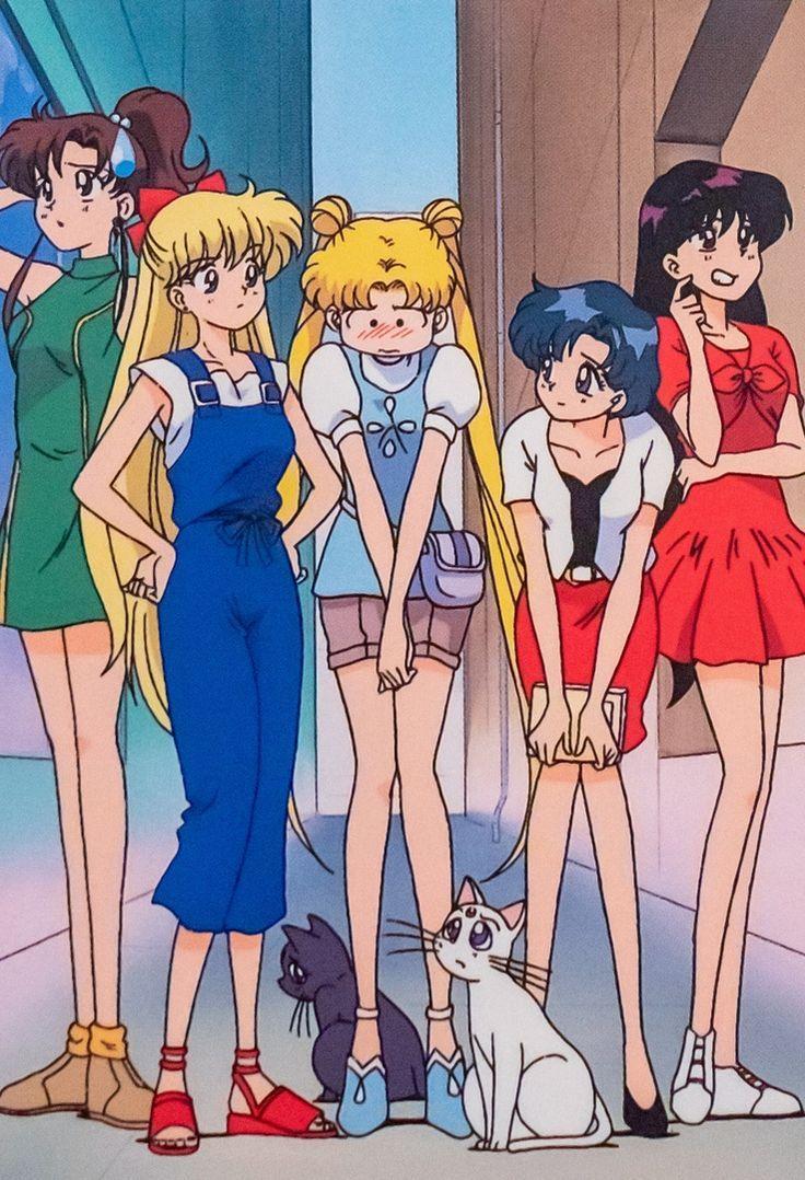 Sailor Mars Clothes Fan Art  Sailor moon fashion, Sailor moon