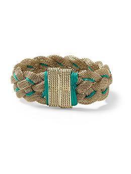 Pim + Larkin Braided Mesh bracelet. Have it with neon and gold from my lovie Megan Rae!! Loooove it!!