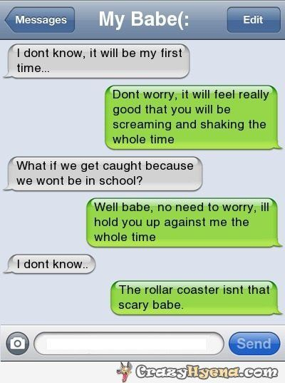 Funny Texts Send Girl