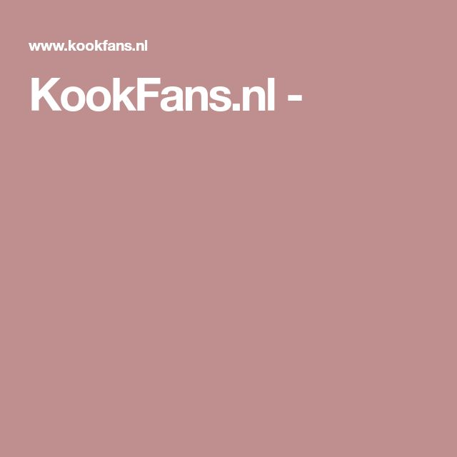 KookFans.nl -