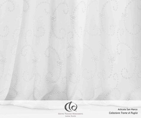 SAN MARCOIl tendaggio prende il nome da una contrada in cui sorge una chiesetta del medioevo, periodo a cui è legata l'antica arte del ricamo sangallo. Per maggiori informazioni sul #Tessuto #SanMarco della nuova #Collezione #TramediPuglia: http://www.ctasrl.com/collezioni/prodotto/san-marco-v-1-2/57/429.htm #tessuti #interiordesign #tendaggi #textile #textiles #fabric #homedecor #homedesign #hometextile #decoration www.ctasrl.com