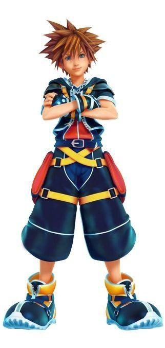 Look at those MAGICAL graphics everyone! Look at them!        Sora- Kingdom hearts three