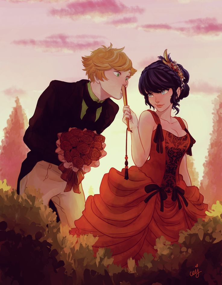 ceejles: Here's my stuff from the Miraculous Ladybug Charity-zine! Thank you @mayhugs for making this happen <3