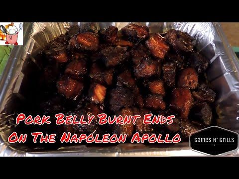 Looking for a great appetizer for your next gathering?  Give pork candy a try!  Pork belly burnt ends are a delicious and fairly simple thing to make!  Check out the video for all the details!