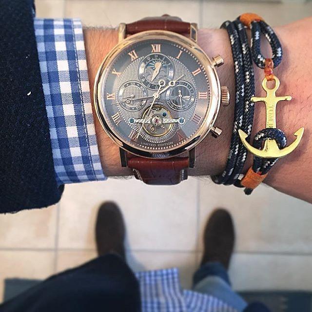 Tom Hope Nautical Anchor Bracelet