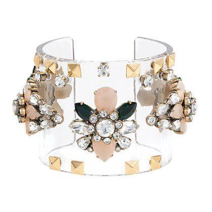 J.Crew - Jeweled cuff