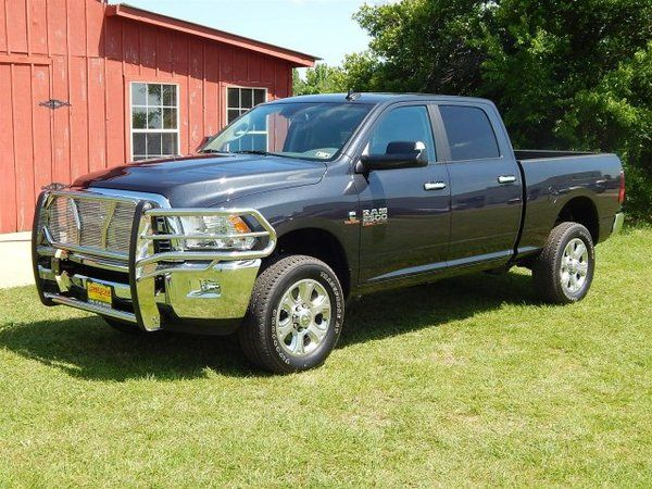 2014 Ram 2500 Lone Star Crew Cab 4x4 With Grille Guard