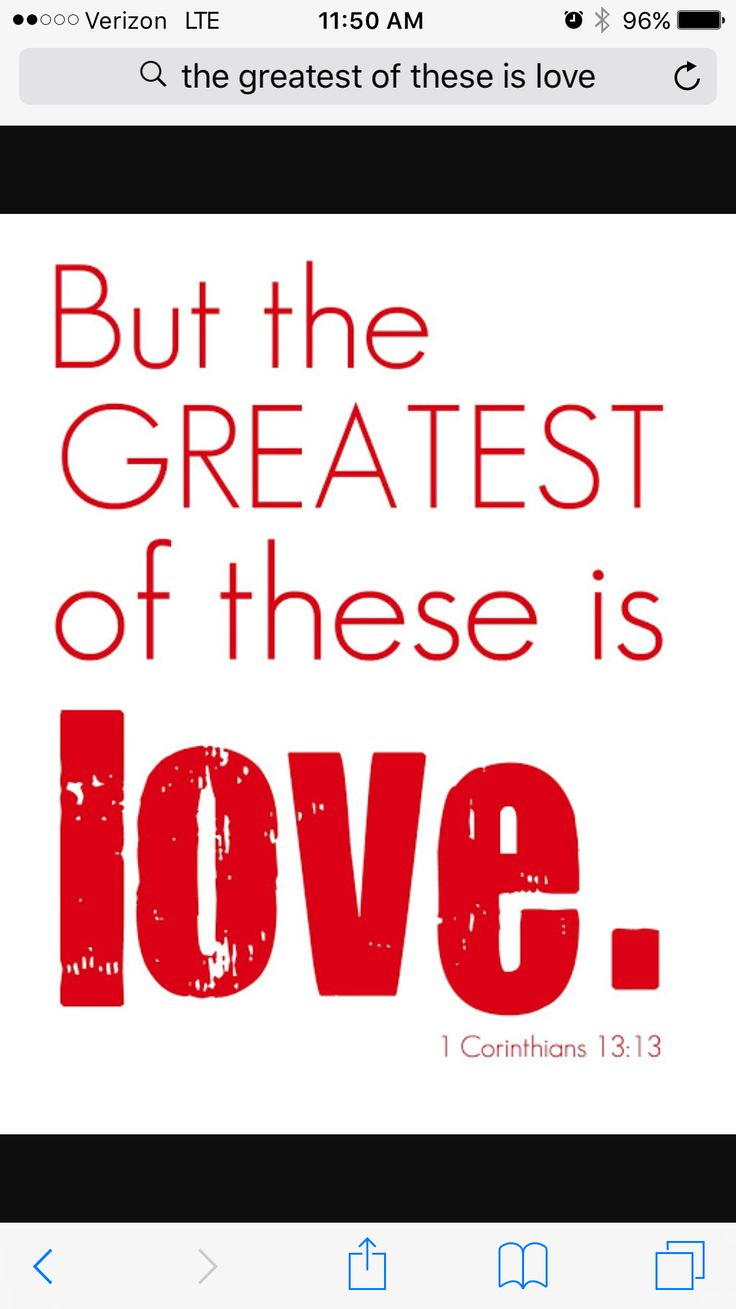 and the greatest of these is love - 500×625