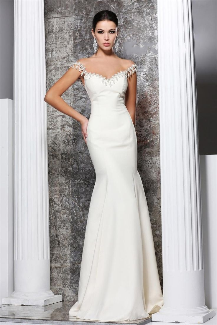 White-Mermaid-Gown-