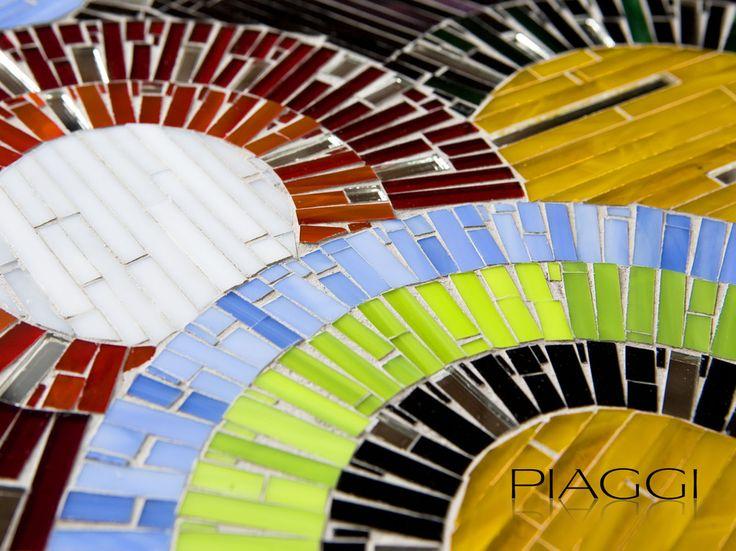 Designer mirrors with intricate mosaics - piaggi.co.uk/store #mosaic #designer #interior #accessories