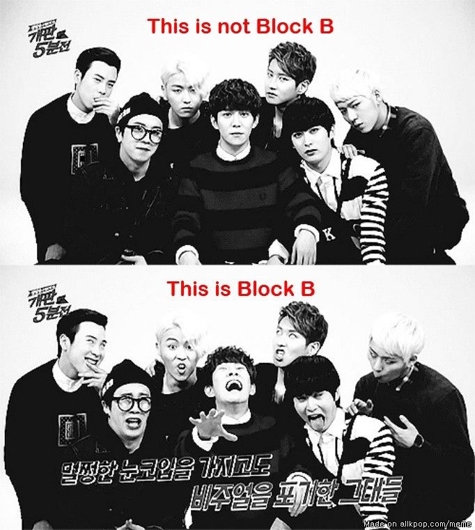 They are so specially special lol good job my loves ❤ Block b