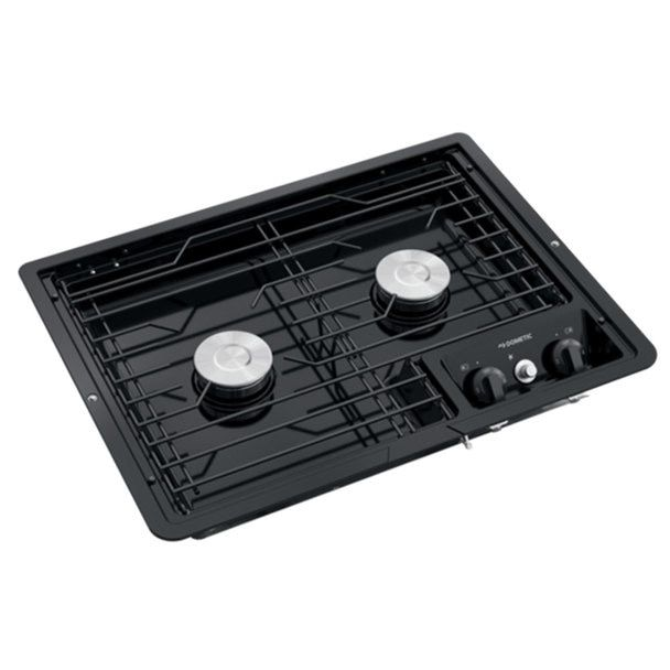 Dometic D21 Bpw 50210 Rv 2 Burner Propane Cooktop Black