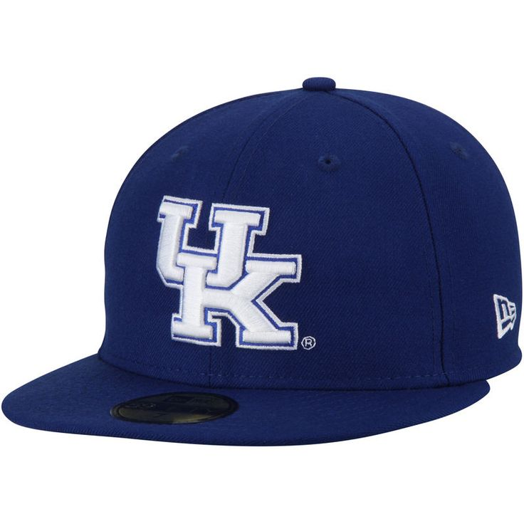 Kentucky Wildcats New Era Basic 59FIFTY Fitted Hat - Royal