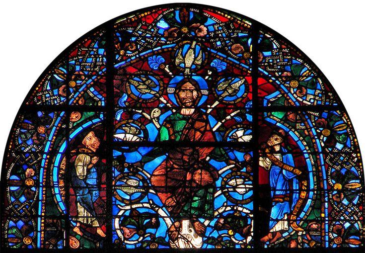 BLU COBALTO, l'azzurro intenso chiamato anche blu di Chartres impiegato nelle vetrate gotiche delle cattedrali francesi. (da Si fa presto a dire blu… – DidatticarteBlog)