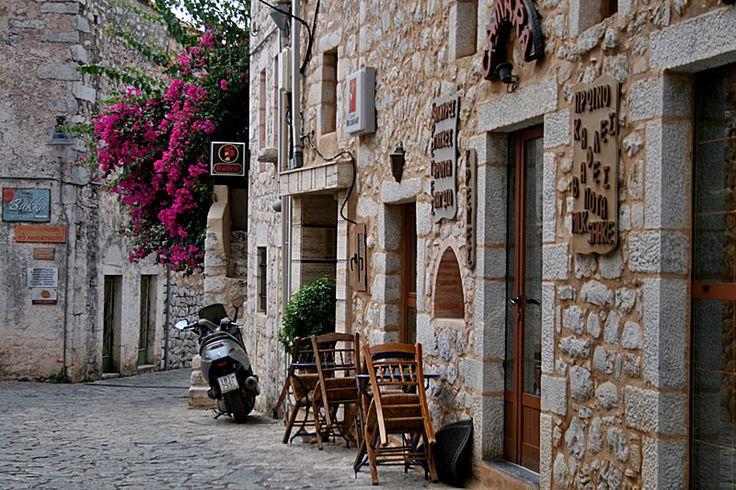 Areopolis stone - Areopolis, Lakonia