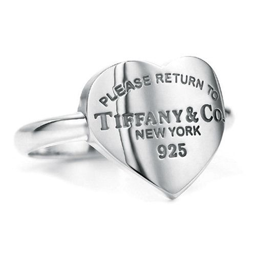 Tiffany & Co Charming Return to Tiffany Heart Tag Ring tiffany ring