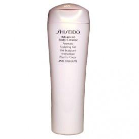 """Shiseido  ADVANCED BODY CREATOR - Anti-Cellulite Aromatic Sculpting Gel  Das leichte Körpergel festigt die Haut und hinterlässt sie geschmeidig gepflegt. Der einzigartige """"Sculpting Plant Complex"""" kann das Erscheinungsbild von Cellulite verbessern und schenkt so ein optimales Körpergefühl. Die kühlende Textur sorgt bereits beim Auftragen für ein belebendes, leicht prickelndes Gefühl auf der Haut."""