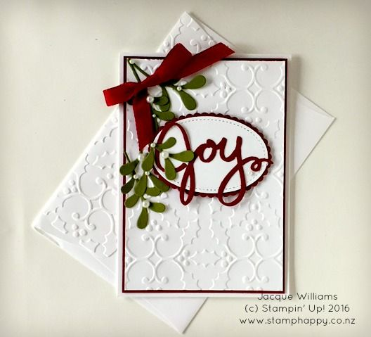 """Good morning and Merry Christmas! Today's share is a reasonably """"quick to put together"""" one inspired by my team member and good friend, Paula Dobson:  This is one of the fo…"""