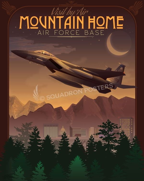 Mountain Home AFB Archives - Squadron Posters