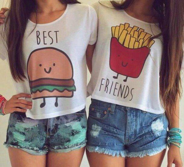 Blusas para mejores amigas